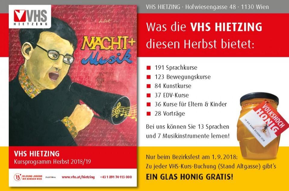vhs hietzing - Die Wiener Volkshochschulen